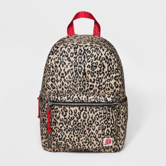 48e3338679e wild fable Bags   Leopard Print Backpack   Poshmark